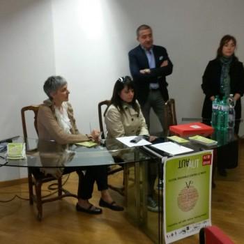 La conferenza stampa del 28 aprile presso la sede dell'Ordine dei Giornalisti dell'Emilia Romagna