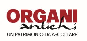 Logo organi antichi su sfondo bianco