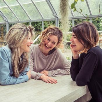 Le autrici: Silvia Bernardi, Silvia Salmeri ed Silvia Santachiara