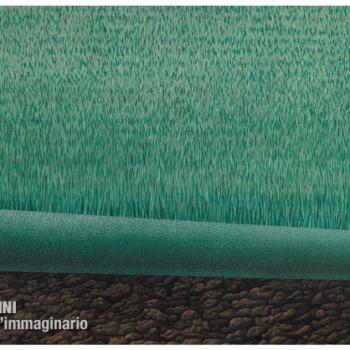 Gino Pellegrini - Erba perenne, 1972; Acrilico su tela, 120x230 cm