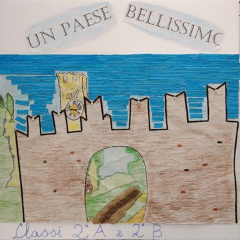 2°A e 2°B La Rocca dei Bentivoglio vista dai bambini