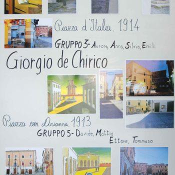 5°D - In Piazza con De Chirico