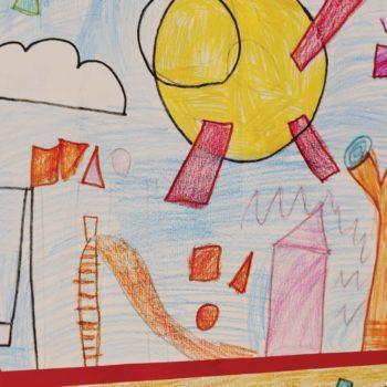 2°C. Tracce di Kandinsky. Un giardino di colori fantastici.