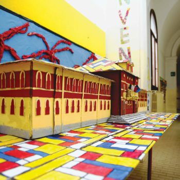 1°A  e 1°B - La Scuola a Colori. Noi e Mondrian.