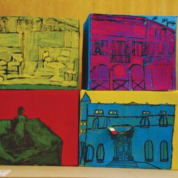 4°B - Warhol: nella nostra Piazza pop art.
